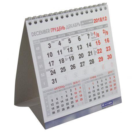 Календар настільний Buromax 140х155 мм