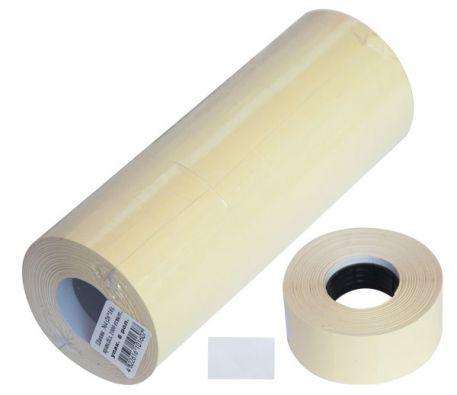 Етикетки-цінники 26х16мм, білі