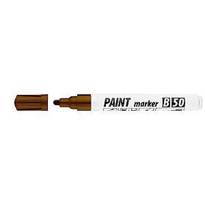 Маркер - лак ICO, 2-4мм, коричневый