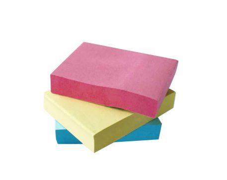 Блок для нотаток з клейким шаром Economix, 100арк.