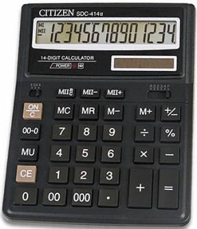 Калькулятор Citizen SDC-444, 12 разрядов