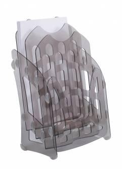 Лоток вертикальний пластик Economix 3 відділи