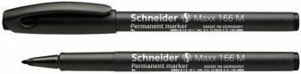 Маркер Schneider 1мм, перманентный, черный