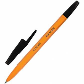 Ручка кулькова 0,5мм Economix RANGE, чорна