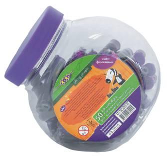 Капсула для чернильных ручек ZIBI, фиолетовая