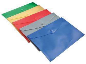 Папка-конверт на кнопці А5 Buromax