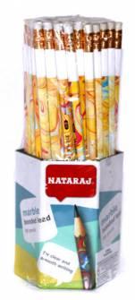 Олівець чорнографітний NATARAJ MARBLE НВ