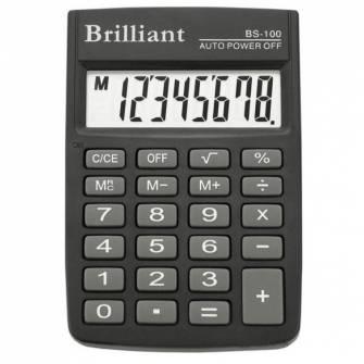 Калькулятор Brilliant BS-100, 8 розрядів