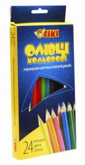 Олівці кольорові Tiki 24 шт.