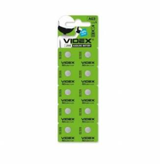 Батарейка Videx AG3 Alkaline LR41