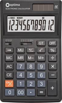 Калькулятор Optima 75521,12 розрядів