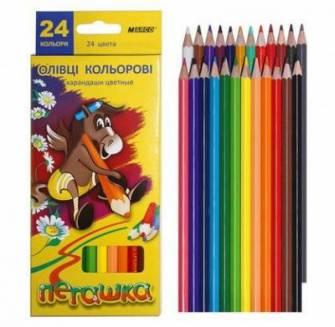 Олівці кольорові Marco 24шт.