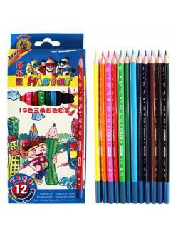 Олівці кольорові 12 шт Junior