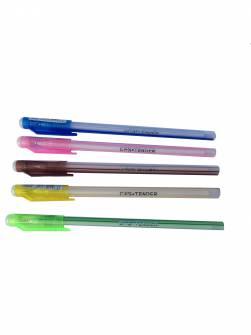 Ручка кулькова 0,7мм, CFS Tender, синя