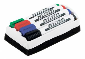 Набір маркерів для дошок з губкою Buromax BM.8800