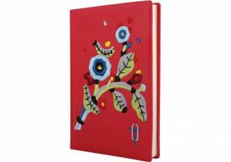 Щоденник Optima А5 недатований, в клітинку