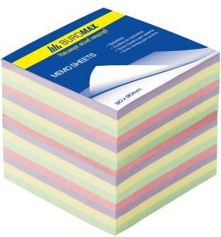 Блок паперу для нотаток Buromax, 800арк., кольоровий