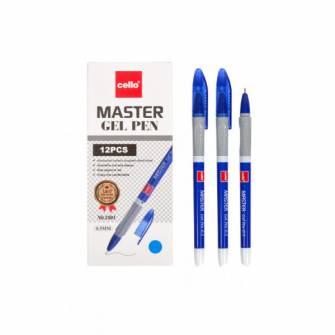 Ручка гелева Cello Master, синя