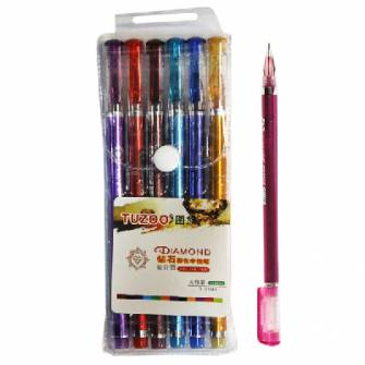 Набір гелевих ручок Tuzoo 6 кол.