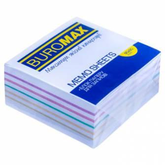 "Блок паперу для нотаток Buromax, 440 арк., ""Радуга"""