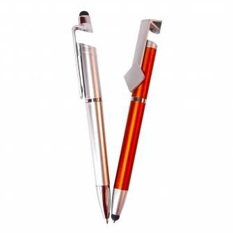 Ручка 3 в 1, ручка+стилус+підставка під смартфон
