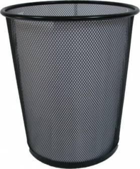 Корзина для сміття, металева, середня