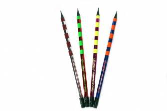 Олівець простий графітовий Shun Shou, чорне дерево, мікс