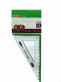 Лінійка - трикутник 14 см Zibi ZB.5622