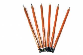 Олівець графітовий Koh-i-Noor 1500, твердість в асортименті