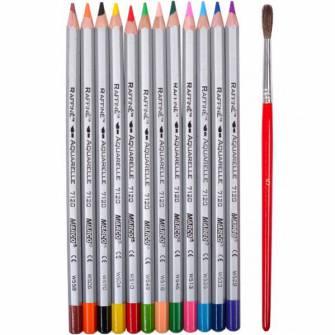 Олівці кольорові Marco Raffine 12шт.