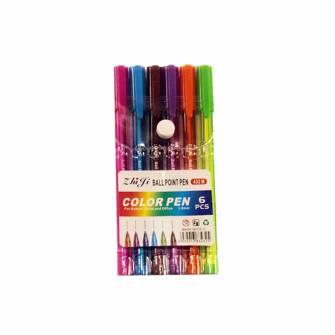 Набір кулькових ручок 6 шт