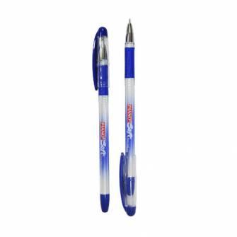 Ручка масляна 0,5мм PIANO PT-197, синя