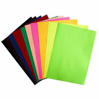 Папір кольоровий Buromax А4, 80 г/м , 10 кольорів