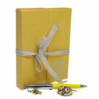 Набір подарунковий: ручка+брелок