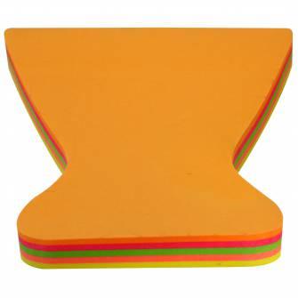 Блок паперу для нотаток з клейким шаром, 100 шт