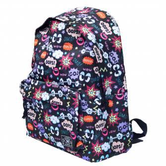 Рюкзак молодежный YES, Crazy OOPS!