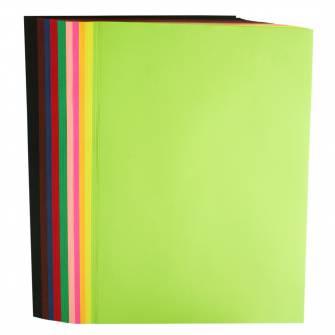 Папір кольоровий Buromax A4, 80 г/м , 50 арк., mix
