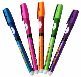Ручка масляна 0,5 мм PIANO для лівши