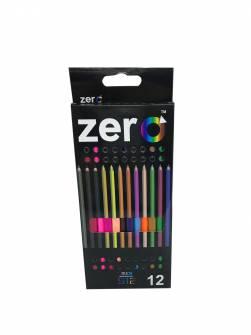 Олівці кольорові 12 шт Zero