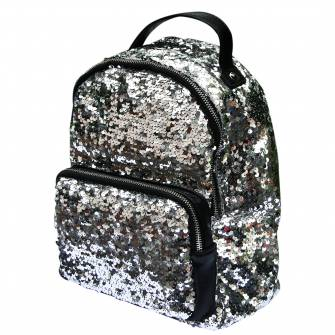 Рюкзак молодежный Yes с пайетками
