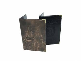 Обкладинка на паспорт, кожзам