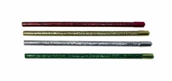 Олівець з блискітками та кристалом