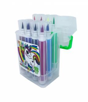 Фломастери-пензлики Color Pen 12 шт.