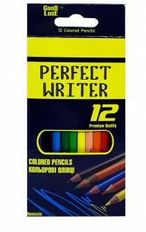 Олівці кольорові Perfect Writer 12 шт