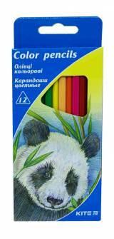 Олівці кольорові Kite, 12 шт