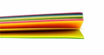 Папір кольоровий MIX Buromax A4, 80 г/м , 50 арк.