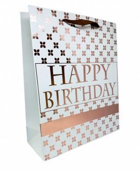 Пакет подарунковий Happy Birthday 32х26х10 см.