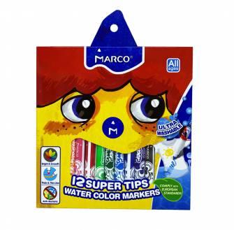 Фломастери Marco 12 кольорів