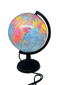 Глобус 220 мм з підсвіткою