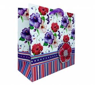 Пакет подарунковий квадратний